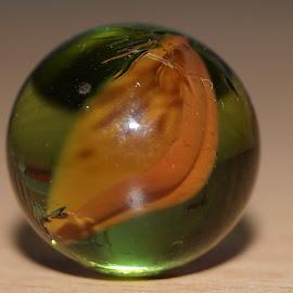 glass ball by Vilasini Tinnaneri - Artistic Objects Glass ( glass, sphere, light, design, shadows )