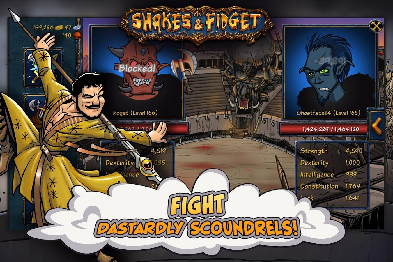 Shakes and Fidget Screenshot 4