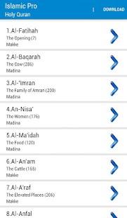 Islamic Pro / Quran,Pray Times- screenshot thumbnail
