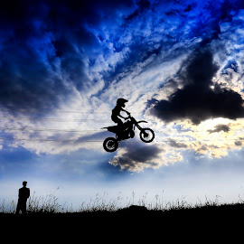 Jump To Cloud by Muhammad Yoserizal - Sports & Fitness Motorsports