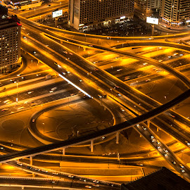 by Biswadip Das - City,  Street & Park  Night ( skyline, citiscapes, cities,  )