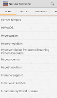 Screenshot of Handbook of Natural Medicine