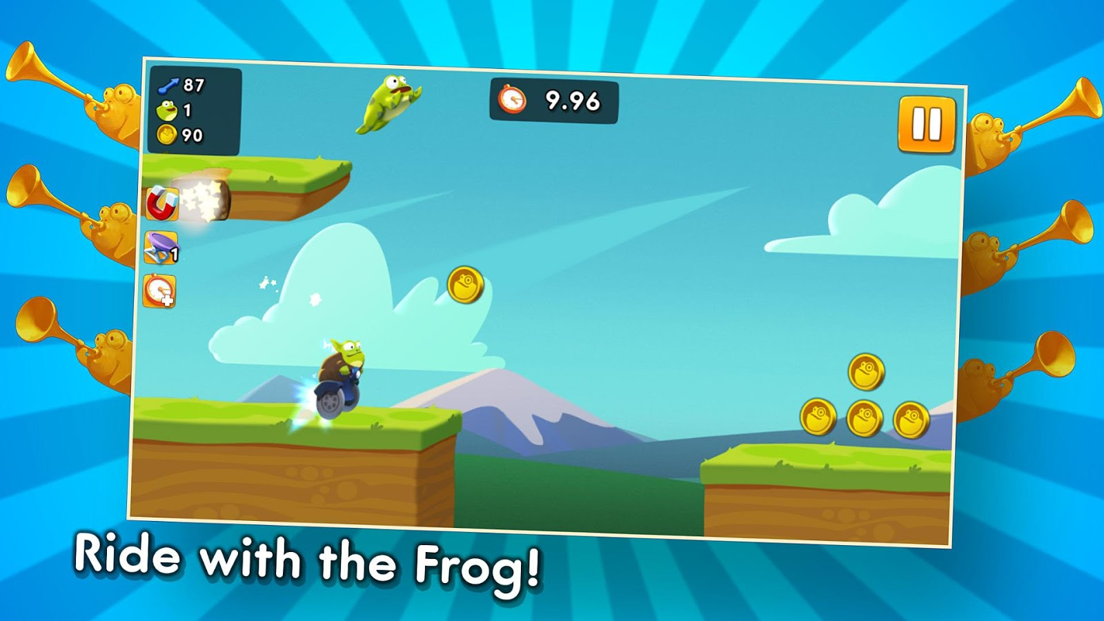 Ride with the Frog Screenshot 4