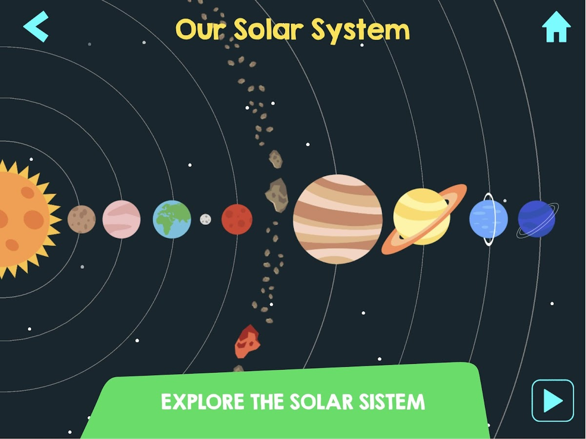 Cosmolander - The solar system Screenshot 5