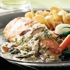 Chicken Breasts with Mushroom Sage Sauce Recipe | Yummly