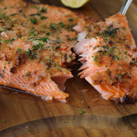 Baked Steelhead Trout Fillet
