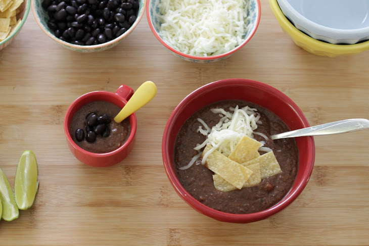 30-Minute Black Bean Soup Your Family Will Love Recept | Yummly