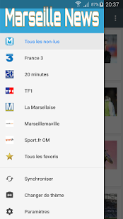 Marseille News - screenshot