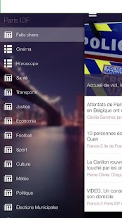 Paris IDF Actu gratuite - screenshot