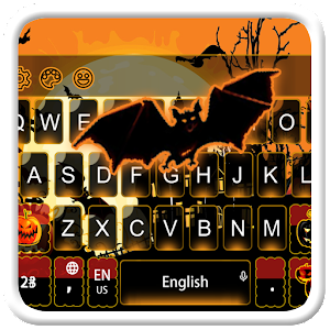 Exciting Halloween Keyboard Theme