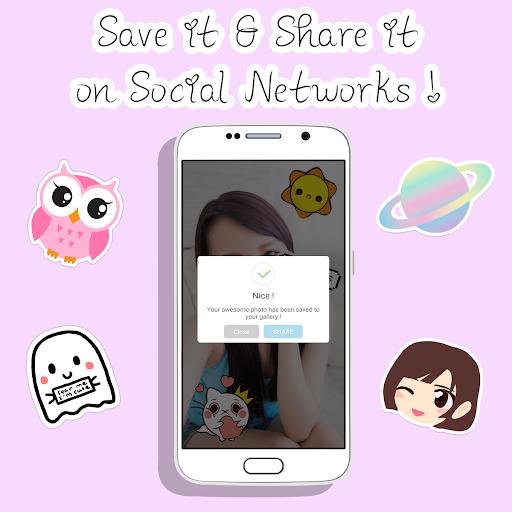 MojiCam: Snap & Stickers Cam - screenshot