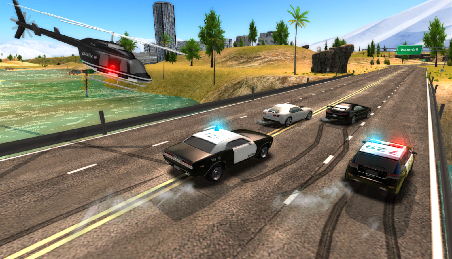Verbrechen-Stadt-Polizei-Auto-Fahrer android spiele download