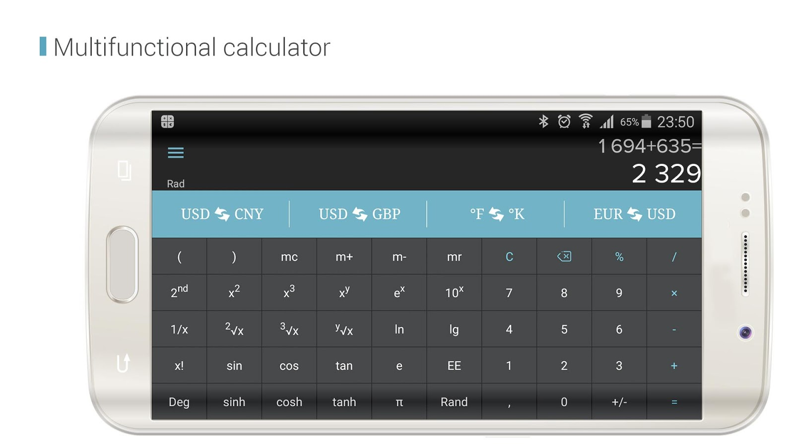 CalCon Converter & Calculator Screenshot 3