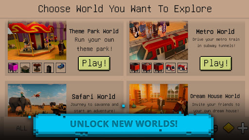 Ultimate Craft: Exploration of Blocky World For PC