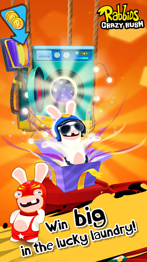 Rabbids Crazy Rush Screenshot 3