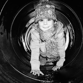 Winter Tunnel by Claire Wright - Babies & Children Toddlers