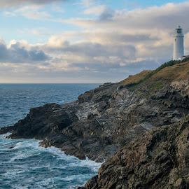 Trevose Head Lighthouse  by Jolyon Vincent - Buildings & Architecture Public & Historical