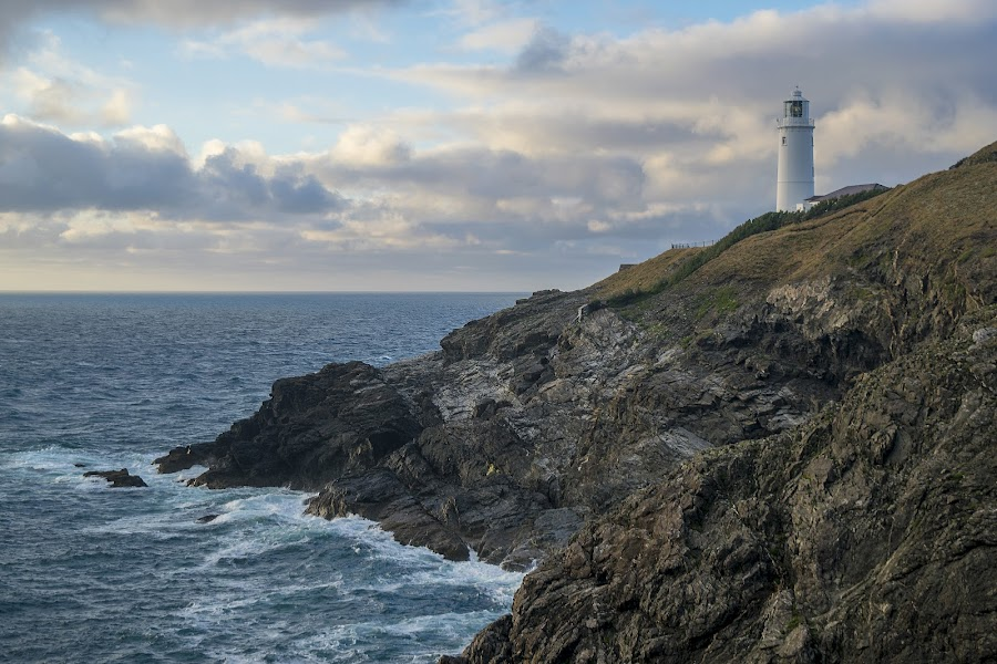 Trevose Head Lighthouse  by Jolyon Vincent - Buildings & Architecture Public & Historical (  )