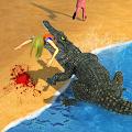 Game Crocodile Beach Attack 2016 APK for Kindle