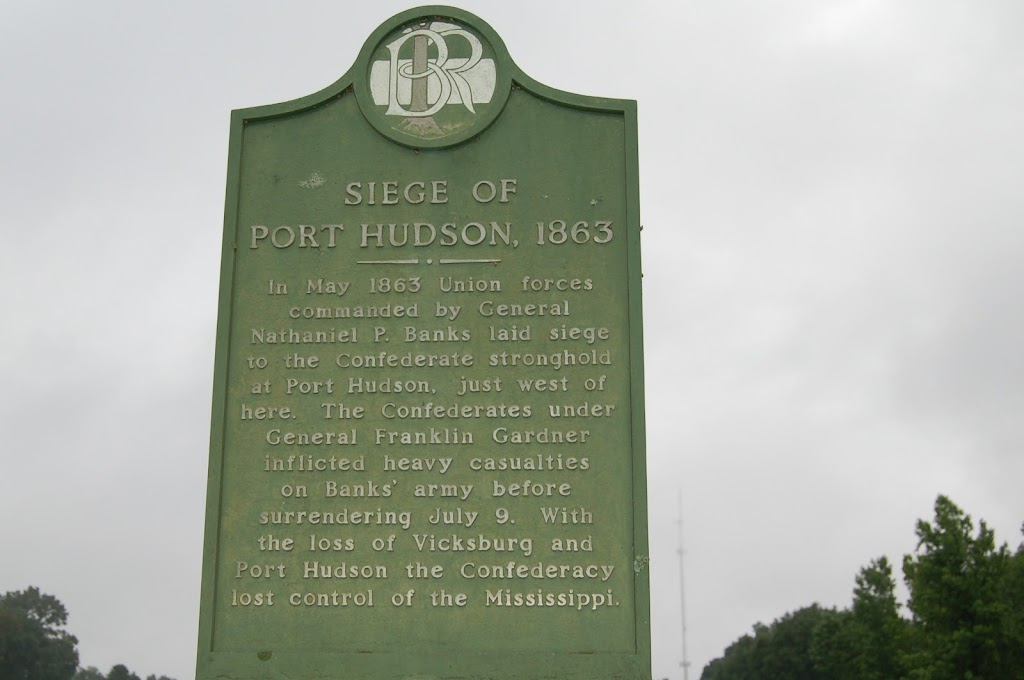 In May 1863 Union forces commanded by General Nathaniel P. Banks laid siege to the Confederate stronghold at Port Hudson, just west of here. The Confederates under General Franklin Gardner inflicted ...