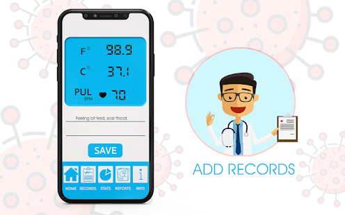 Body Temperature Thermometer : Fever Check History for pc