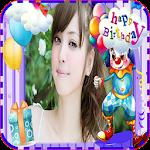 birthday photo frames cake1 Icon