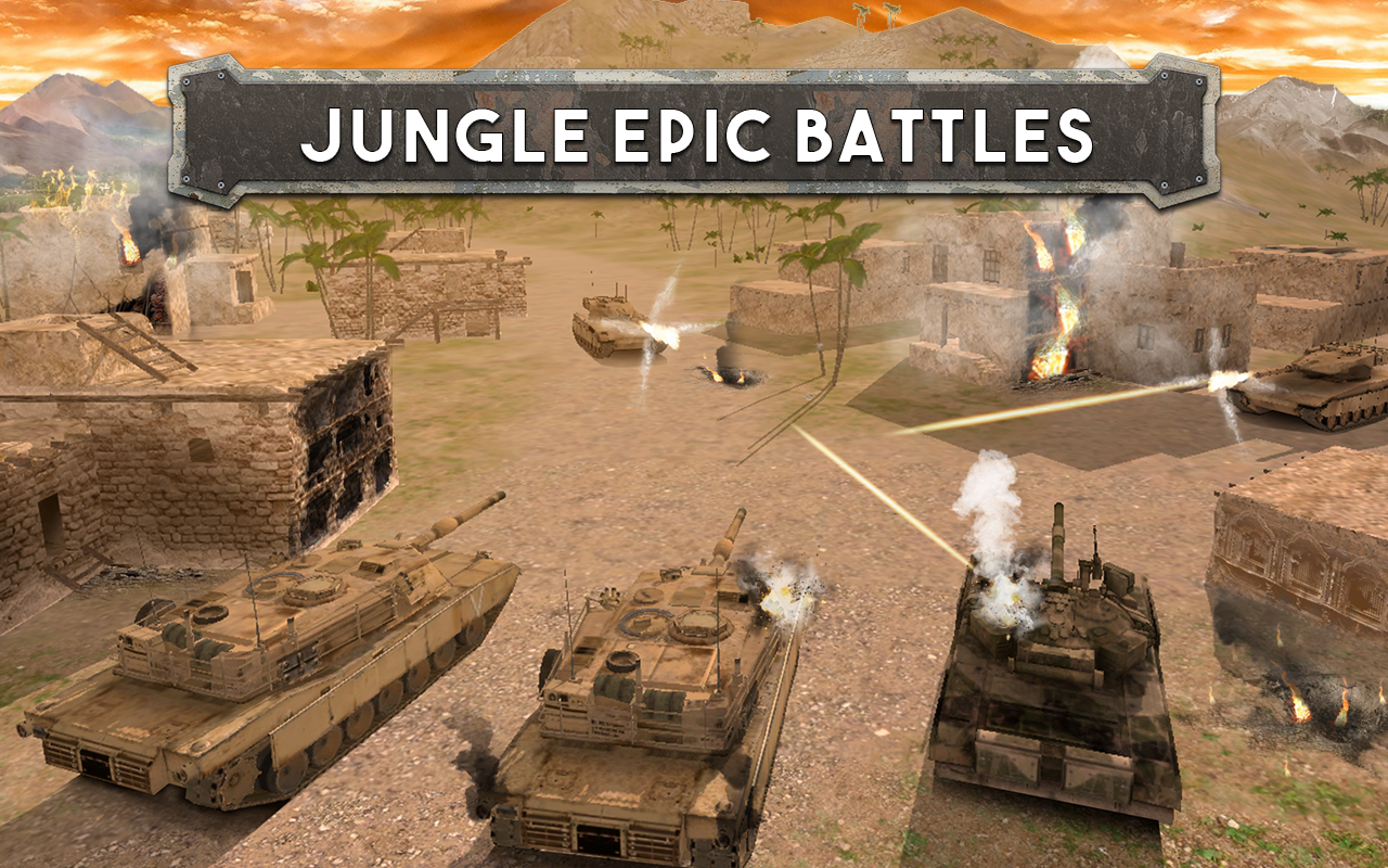 Tank Battle: Army Warfare 3D Screenshot 2