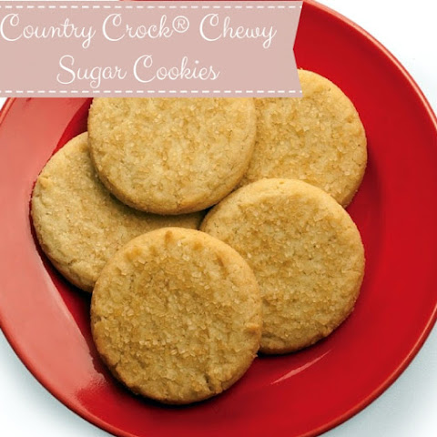 Country Crock Chewy Sugar Cookies