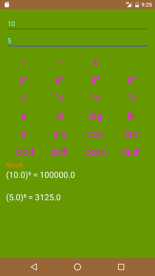 Calculator Board Screenshot 5