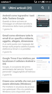 Guidami.info App - screenshot