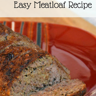 Freezer Friendly, Easy Meatloaf