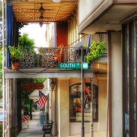 Downtown Vicksburg, Mississippi  by Whitney Osburn - City,  Street & Park  Street Scenes ( vicksburg )