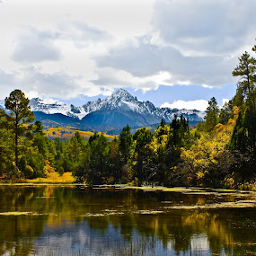 Mt. Sneffles by David Short - Landscapes Mountains & Hills ( mountain, color, fall, colorado, sneffles )
