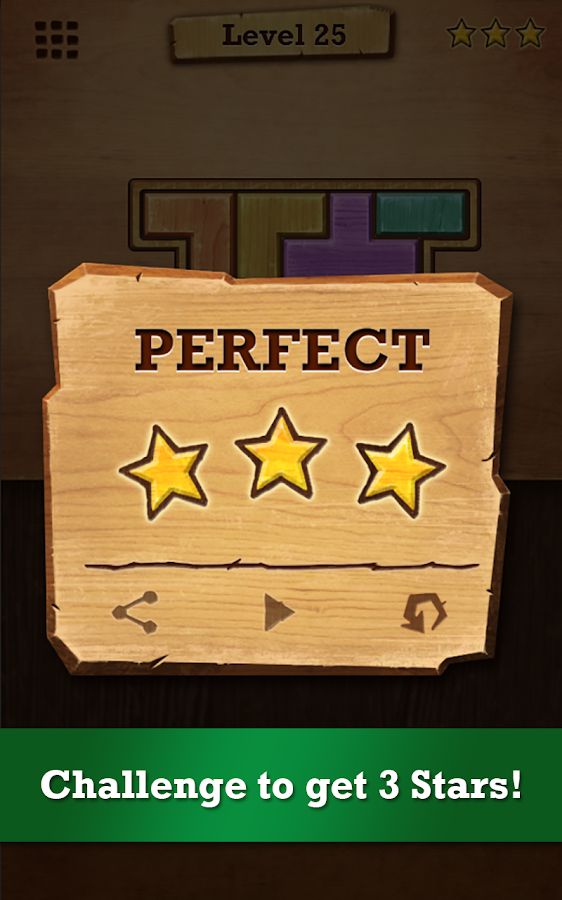 Wood Block Puzzle Screenshot 3