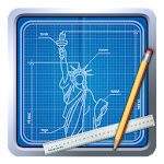 Blueprint 3D Icon