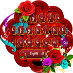 Red Roses Keyboard Theme Icon