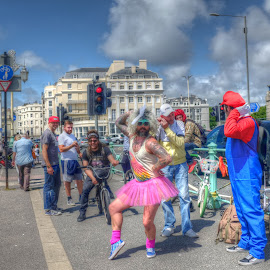 Having a Good Time  by Mark West - People Street & Candids
