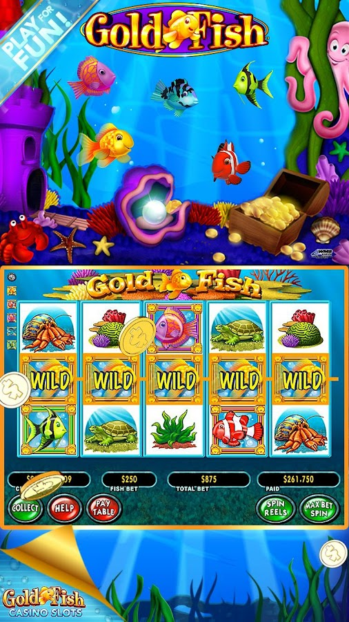 Gold Fish Casino Slots for Fun Screenshot 2