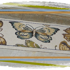 Wonderful Wings by Sandy Stevens Krassinger - Abstract Patterns ( decor, patterns, butterflies, wings, absract )