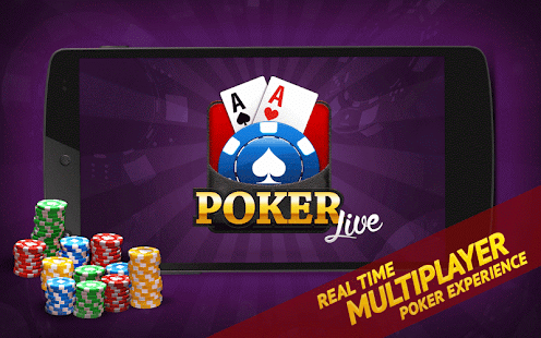 Game Poker Live! 3D Texas Hold'em apk for kindle fire