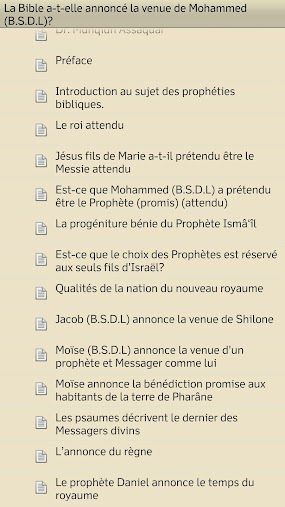 La Bible la venue du Messager APK
