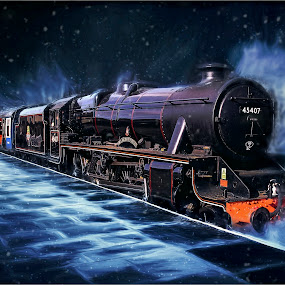 by Stephen Hooton - Digital Art Things ( transport, trains )
