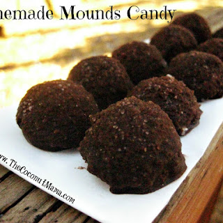 Healthy Homemade Mounds Candy