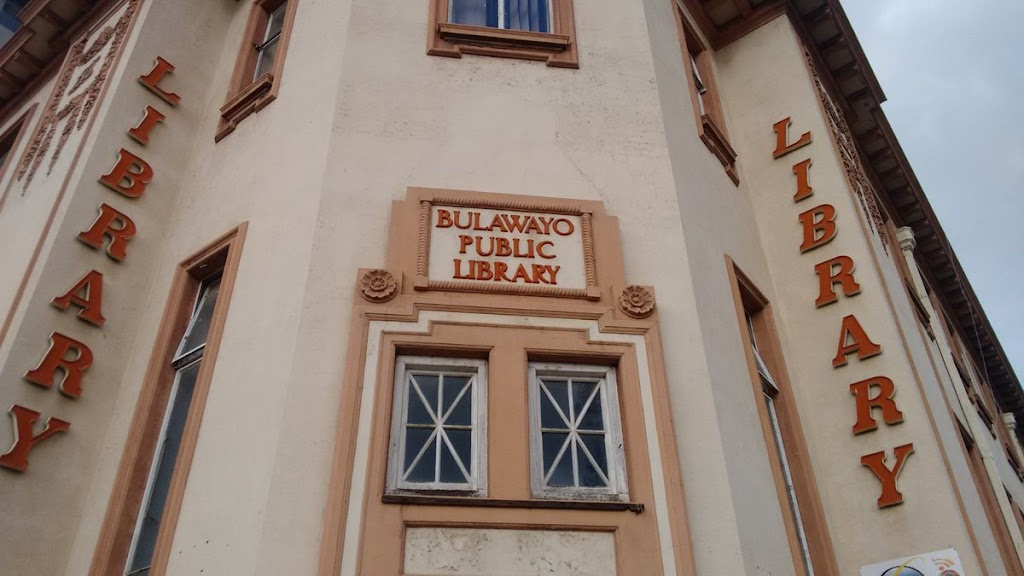 Bulawayo Public Library THIS STONE WAS LAID ON 4th NOV 1933 BY R. A. LETTS ESQ. CHAIRMAN PVBLIC LIBRARY COMMITTEE SINCE 1904 Submitted by @Jasewem