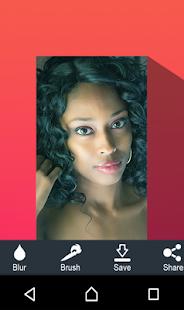 Makeup camera selfie