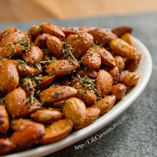 Crock Pot Herbed Almonds