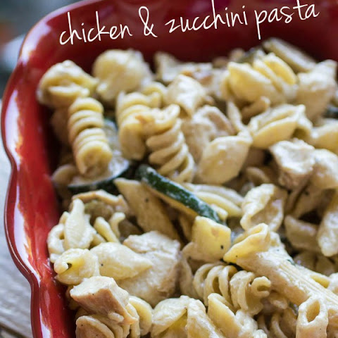 Chicken and Zucchini Pasta Bake