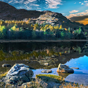 by Stephen Hooton - Landscapes Waterscapes ( water, reflection, cumbria, wendy, waterscape, lakes )