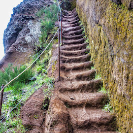 Way Up by Palmi Vilhjalmsson - Landscapes Mountains & Hills ( adventure, pico do arieiro, hiking, pico ruvio, madeira )