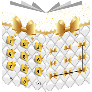 AppLock Theme Golden Bow for PC-Windows 7,8,10 and Mac